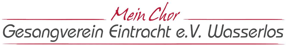 Gesangverein Eintracht Wasserlos e.V